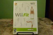 Wii Fit (Wii, 2008) Brand New factory Sealed - No Board - Just The New Game