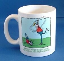 """Golf Mug""  My Worst Day On The Golf Course Still Beats My Best Day In Office"