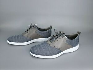 NWOB Cole Haan Grand Tour Knit Oxford Gray C31346 Mens Size US 10.5 , 11