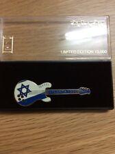 Atlanta Olympic Games Limited Edition Guitar Pin: Israel Star of David