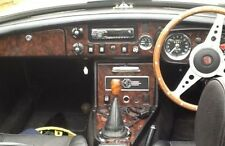 MGB & GT 1970 - 1974 en bois de noyer Dash Trim Kit