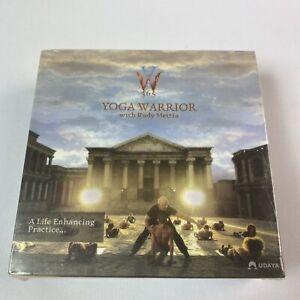Yoga Warrior 365 DVD Fitness Program Box Set Rudy Mettia Brand New Free Post