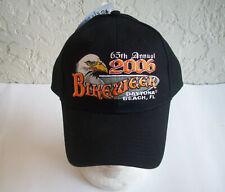 65th ANNUAL 2006 BIKEWEEK DAYTONA BEACH HAT - CAPSMITH - THE ORIGINAL