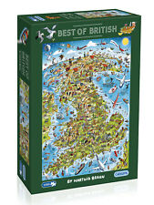 Gibson Best of British - 1000pc Jigsaw Puzzle