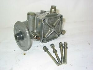 VERY NICE ROTAX 914 OIL PUMP ASSEMBLY COMPLETE WITH OIL TEMPERATURE SENSOR !!!
