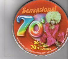 (GA83) Sensational 70s, 20 tracks various artists - 1999 CD