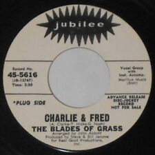 """The Blades of Grass - Charlie & Fred (Hollies) -  U.S. promo 7"""" vinyl"""
