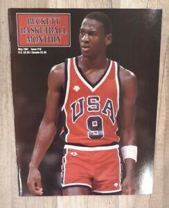 Beckett Basketball Card Monthly May 1991 Michael Jordan Cover 🔥