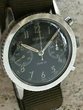 Dodane Type XXI chronograph French vintage rare military