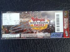 Nascar Darlington Raceway 2014 Sports Clips 200 ticket Chase Elliott Win/ Signed