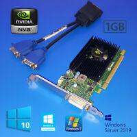 Lenovo ThinkStation P330 P410 P500 P510 P520 P520C Tower 1GB Dual VGA Video Card