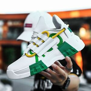 Men's Platform Sneakers Men Hip Hop Shoes Casual Athletic Sneakers