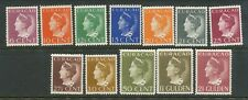 NETHERLANDS CURACAO 1948 DEFIN SET MINT HINGED CATGB£180.00 BIN PRICEGB£45.00