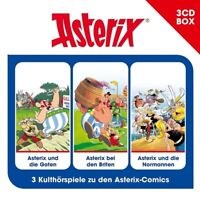 ASTERIX - ASTERIX-3-CD HÖRSPIELBOX VOL.3 3 CD NEW