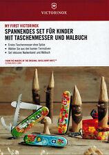 MY FIRST Victorinox Set Kindertaschenmesser Schnitzmesser Tier Edition Säge