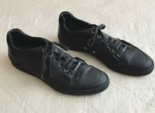 DIOR HOMME⚡️Low trainers flat matte black sneakers size 11