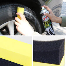 Hot Tire Wax Polish Wash Compound Wipe Sponge Cleaning Brush For Auto Car Wheels