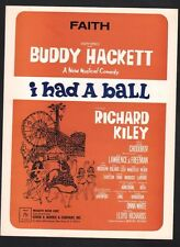 Faith 1965 Buddy Hackett in I Had A Ball Sheet Music