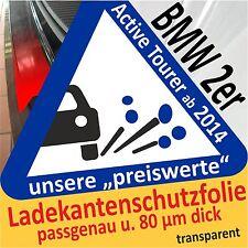 BMW 2er Active Tourer Ladekantenschutz Folie Lackschutzfolie Auto Schutzfolie