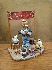 Boyds Yesterdays' Child 3518 The Amazing Bailey Magic Show at 4 Resin Figurine