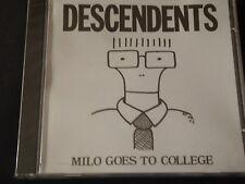 Descendents - Milo Goes to College SEALED NEW CD 1993 ALL BLACK FLAG ONLY CRIME