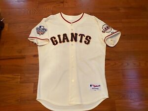 2010 SF Giants W.S. CODY ROSS AUTHENTIC HOME NWOT Jersey SIZE 48 2010 NLCS MVP