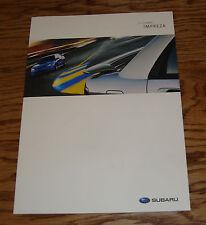 Original 2007 Subaru Impreza Deluxe Sales Brochure 07