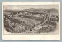 Dartmouth College~Campus Panorama~Rare Antique Hanover NH Littig Postcard 1906