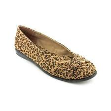size 6.5 N Easy Street Giddy Leopard Ballet Flats Slip On Womens Casual Shoes