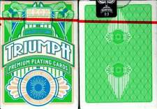 Neon Triumph Playing Cards Deck Standard Index/ Poker Size Linen Finish Casino