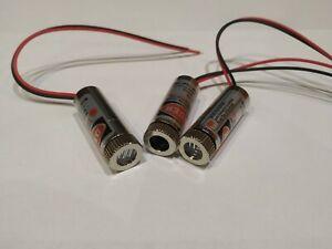 1x Laserdiode 5mW Rot 650nm Punktlaser Kreuzlaser Linienlaser 3-5V Laser Module