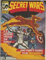 Secret Wars #16 : Vintage Marvel UK Comic : October 1985