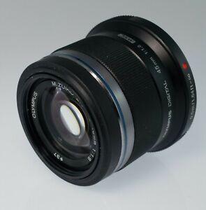 Olympus 45mm f/1.8 AF ED Lens for Micro Four Thirds - Bokeh Machine - Black