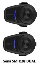 Sena 10S Dual Bluetooth Motorcycle Intercom Headset New Model Free 24hr Delivery
