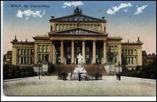 Berlin alte Ansichtskarte 1915 gelaufen Partie am königlichen Schauspielhaus