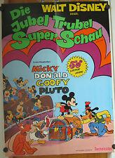 JUBEL TRUBEL SUPER SCHAU (Kinoplakat / Filmplakat '70er) - WALT DISNEY