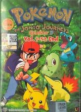 DVD Pokemon The Johto Journeys Season 3 Vol. 1 - 52 End