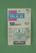50 Watt Halogen Bulb 12 Volt MR-16 Halogen Light  New Light Styles