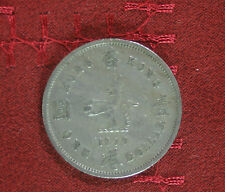 1 Dollar 1970 Hong Kong World Coin KM31.1 Elizabeth II Crowned Lion
