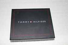 Tommy Hilfiger Men's Pure Genuine Leather Wallet - Brown Leather