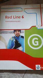 Red Line 6, Klasse 10 Grammatiktraining aktiv
