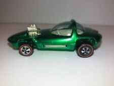 Hot Wheels 1967 Redline Silhouette Green USA Patent Pending