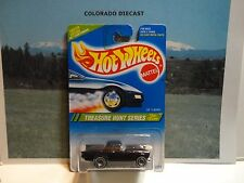 1995 Hot Wheels Treasure Hunt #356 Black '57 T-Bird Mint in Protecto