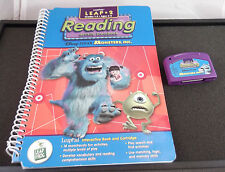 Leap Frog LeapPad Reading Monsters Inc Level 2 Book and Cartridge