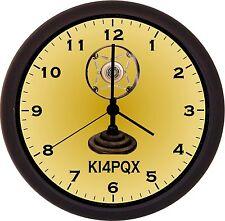 Ham Radio Clock  (Black Frame)