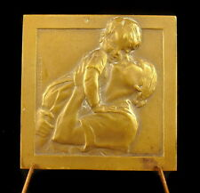 Médaille 42 mm amour maternelle mère & enfant maternal love mother & child Medal