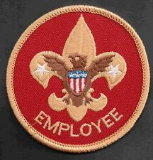 Employee BSA Staff Patch Scout Stuff Bkg 300311