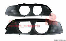 BMW 5 Series E39 1996 - 2000 Headlight Lenses LEFT and  RIGHT set TINTED NEW