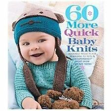 60 More Quick Baby Knits : Cascade 220 Superwash Sport NEW Knitting