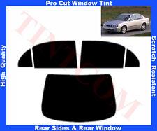 Pre Cut  Window Tint Daewoo Evanda 4D 03-06 Rear Window & Rear Sides Any Shade